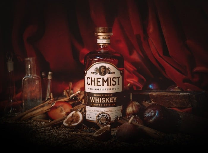 Chemist Spirits Founder's Reserve Single Malt Whiskey