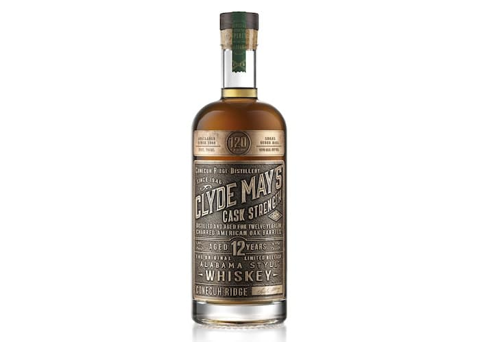 Clyde May's 12 Year Cask Strength Alabama Style Whiskey