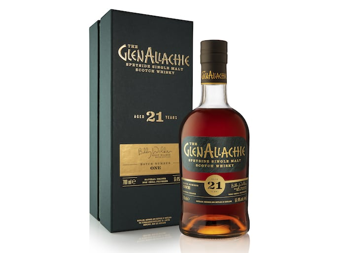 The GlenAllachie 21 Year Old Cask Strength