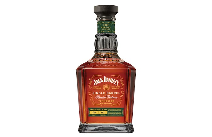 Jack Daniel's Single Barrel 2020 Special Release Barrel Proof Rye