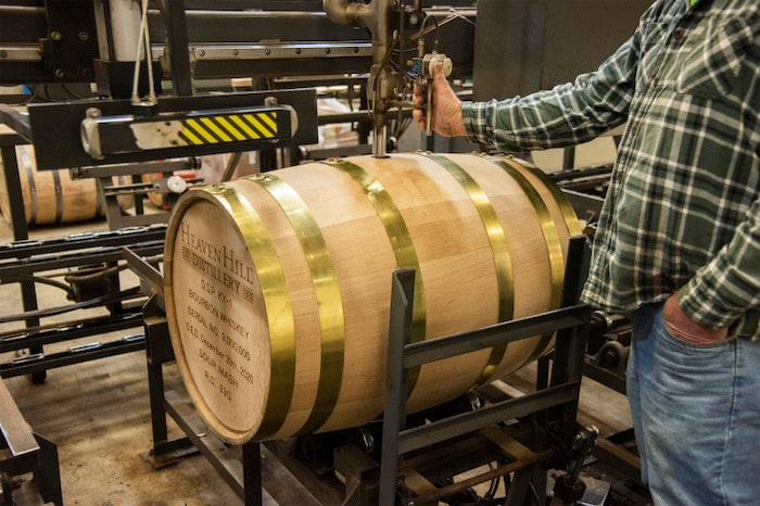Heaven Hill Distillery's 9 millionth barrel