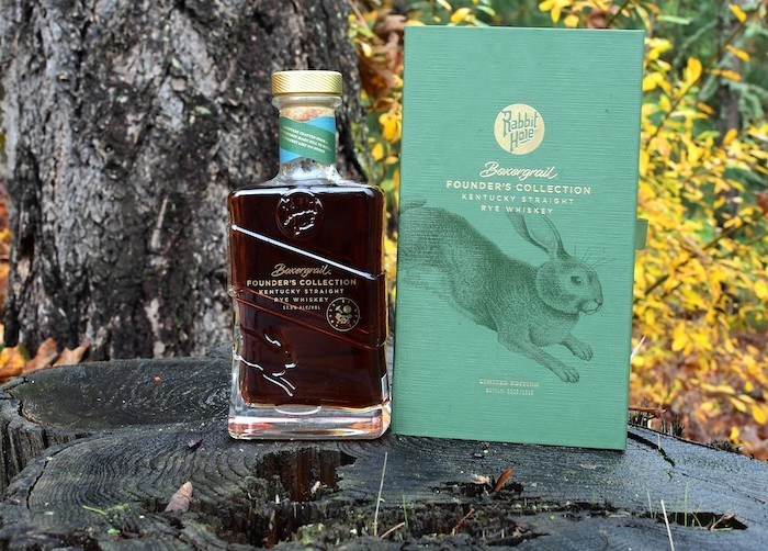 Rabbit Hole Boxergrail Founder's Collection Cask Strength Kentucky Straight Rye