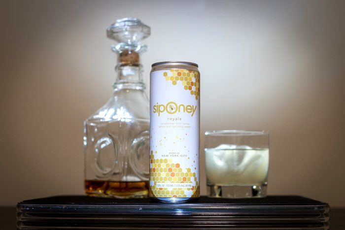 Siponey Royale Cocktail In A Can