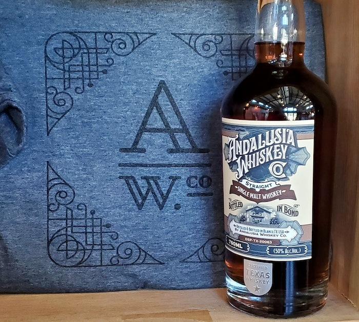 Andalusia Whiskey Co. Bottled in Bond Single Malt