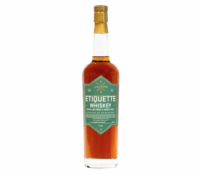 J. Carver Etiquette Whiskey