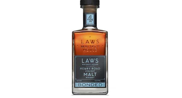 Laws Whiskey House Henry Road Bonded Straight Malt Whiskey