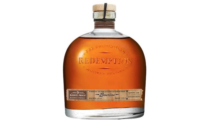 Redemption Barrel Proof 9 Year Bourbon