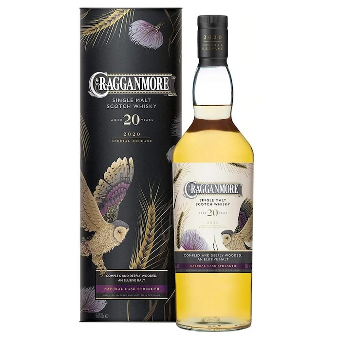 Rare by Nature 2020 Special Release Cragganmore 20 Year Scotch Whisky