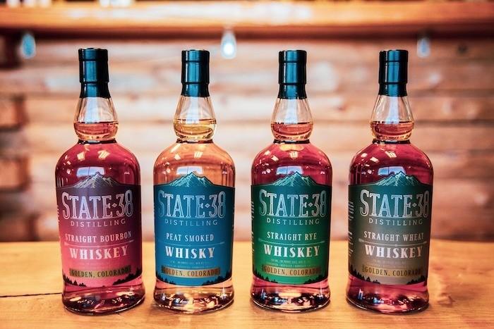 State 38 Distilling Whiskeys