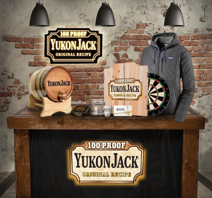Yukon Jack Home Bar