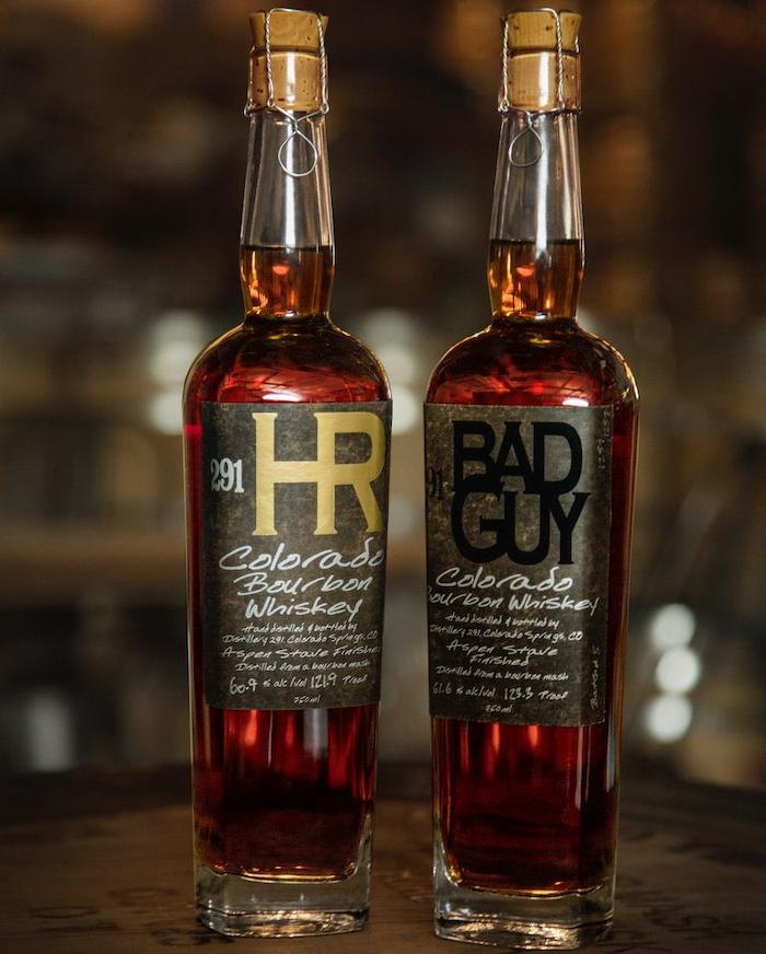 Distillery 291 High Rye & Bad Guy Colorado Bourbon