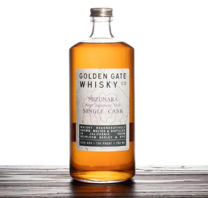 Golden Gate Whisky Mizunara Single Cask