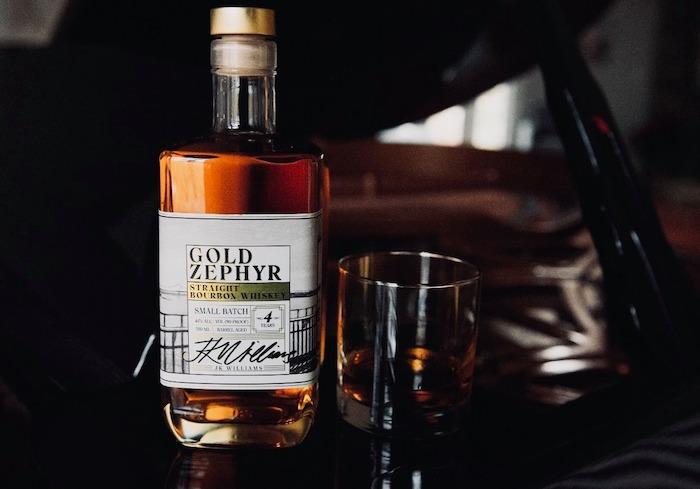 JK Williams Distilling Gold Zephyr Bourbon