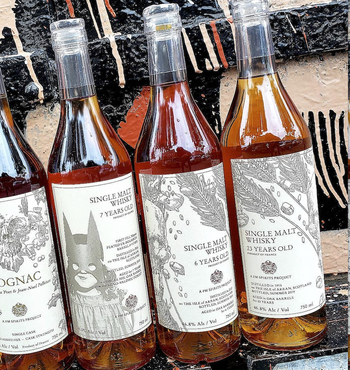 PM Spirits Project 7, 8, and 24 Year Old Single Malt Whiskies