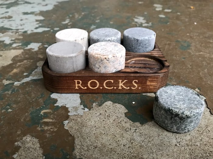 R.O.C.K.S. Whiskey Chilling Stones