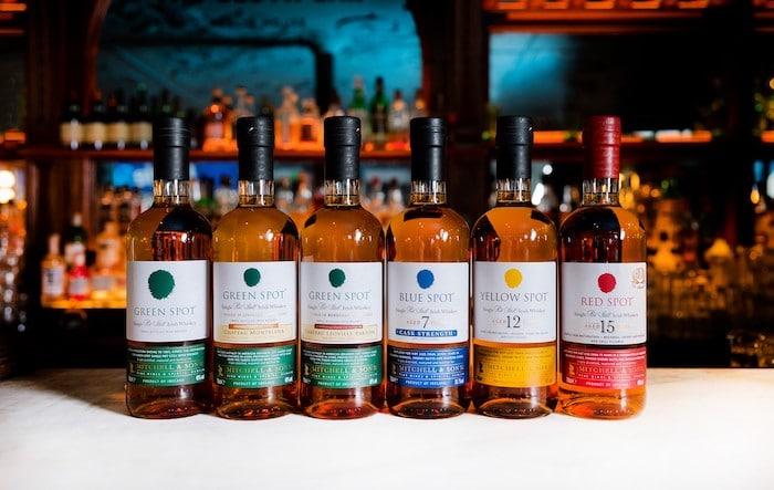 Spot Irish whiskeys