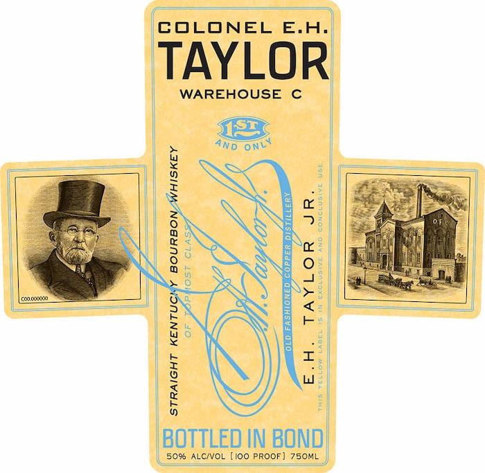 Colonel E.H. Taylor Warehouse C Bourbon front label