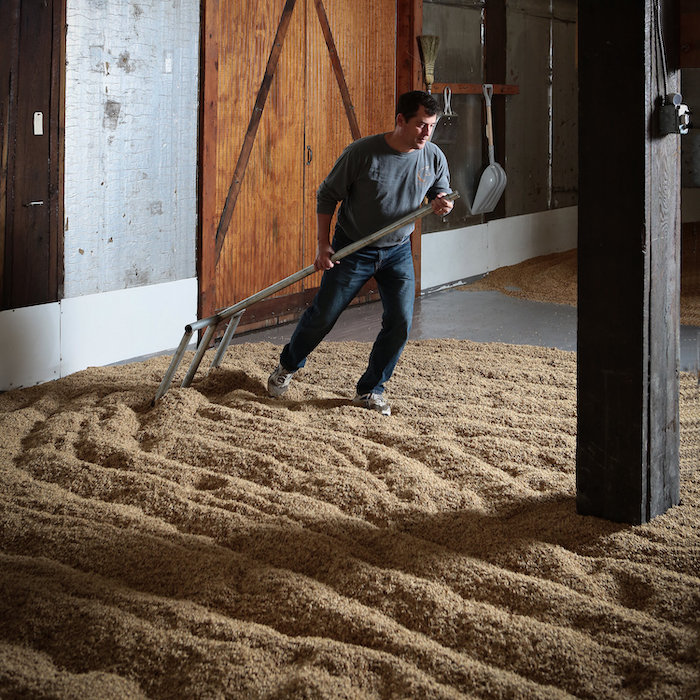 Malt floor Copper Fox
