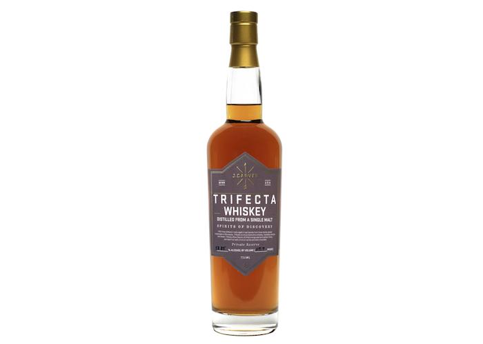 . Carver Distillery Trifecta Cask Strength Whiskey