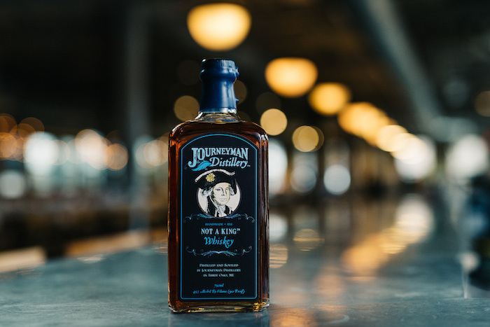 Journeyman's Not A King Rye Whiskey