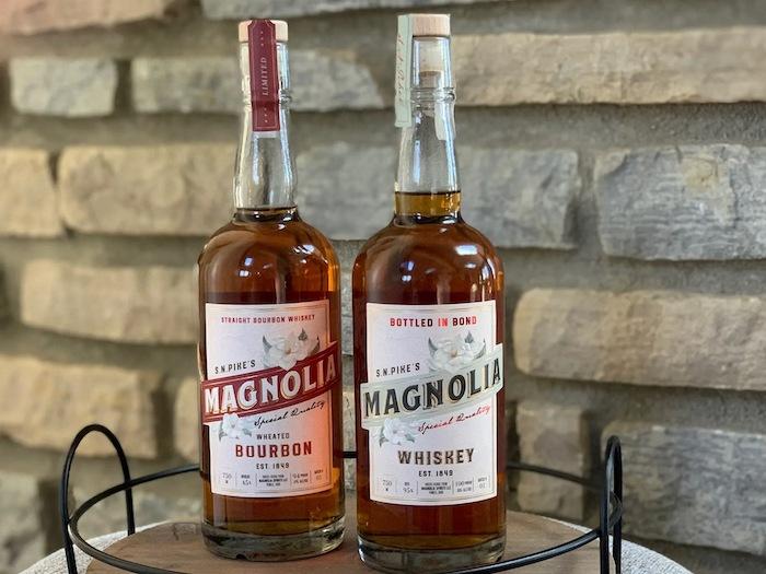 S.N.Pike's Magnolia whiskeys
