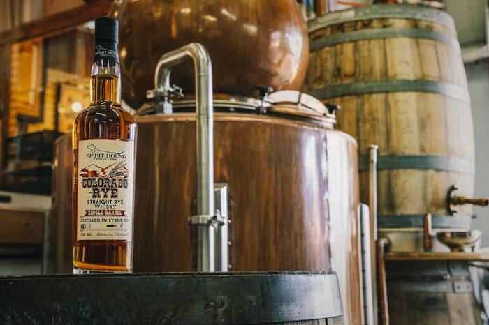 Spirit Hound Distillers Four Year Rye Whisky