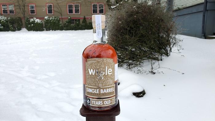 Wigle Single Barrel American Whiskey