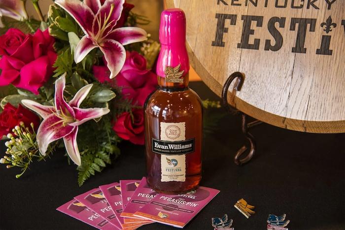 Evan Williams 2021 Bourbon Kentucky Derby Festival Bourbon Bottle