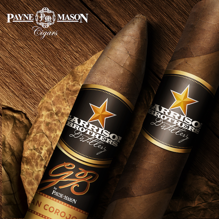 Garrison Brothers Payne Mason Cigars