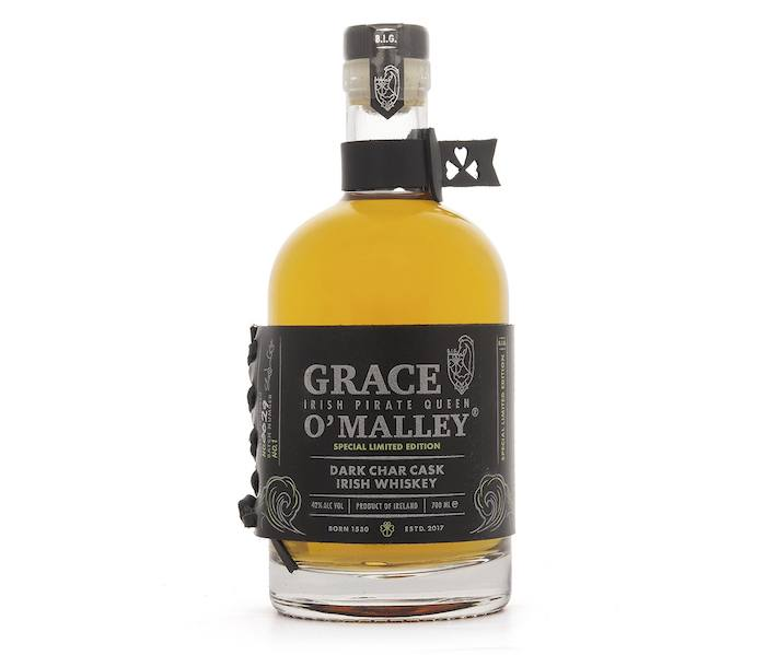 Grace O'Malley Dark Char Cask Irish Whiskey