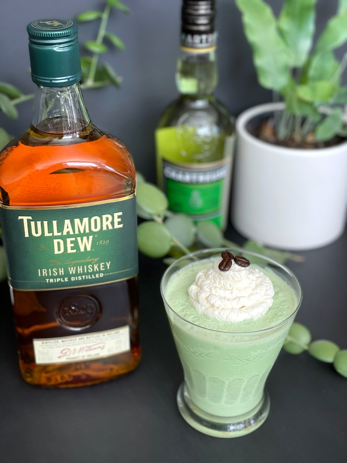 Green With Envy St. Patrick's day cocktail