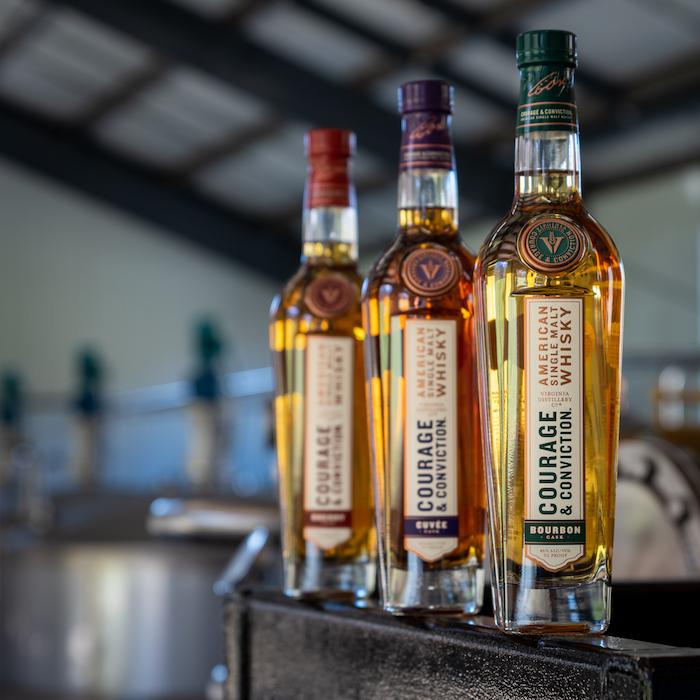 Virginia Distilling Company new American single malts