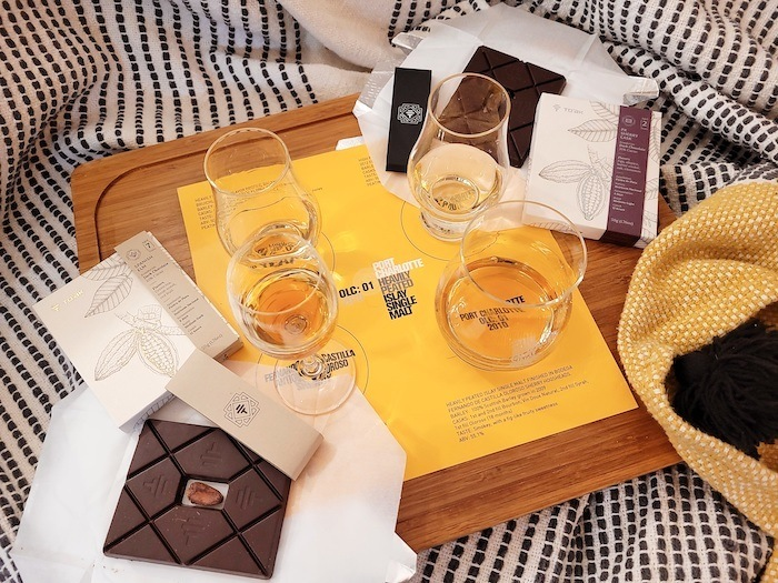 Bruichladdich's Port Charlotte And To'ak Chocolate