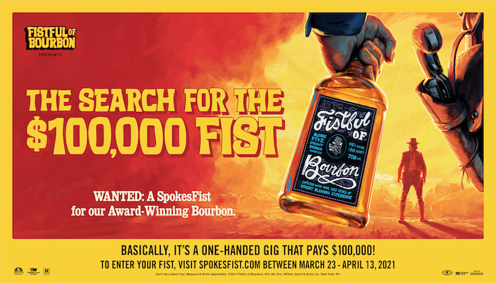 Search for the $100,000 Fist