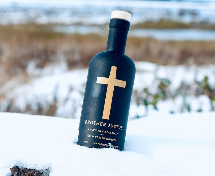 Brother Justus Cold Peated Whiskey