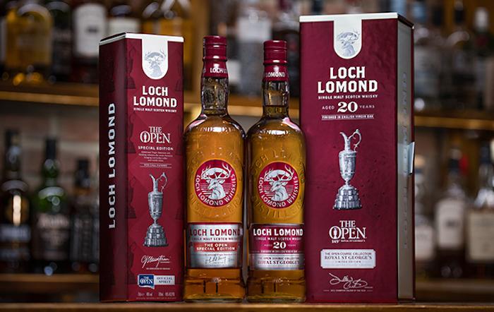 Loch Lomond The 149th Open whiskies