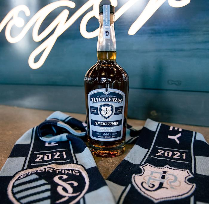 J. Rieger & Co. Sporting Kansas City bottle