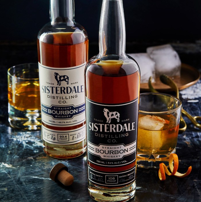 Sisterdale Distilling bourbon