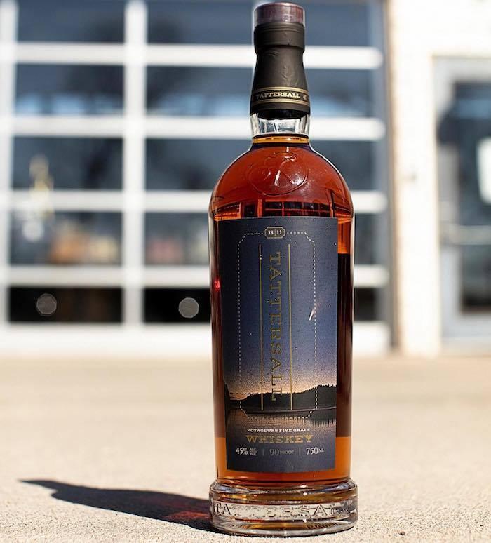 TatterSall Voyageurs Five Grain Whiskey