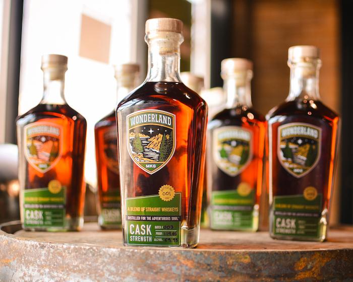 Wonderland's Cask Strength Blend of Straight Whiskeys