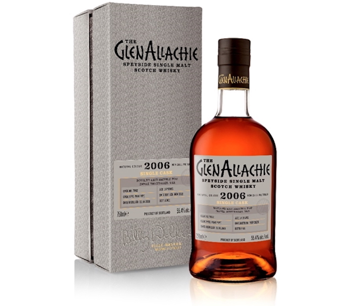 The GlenAllachie 2006 14-Year-Old Port Single Cask #7862