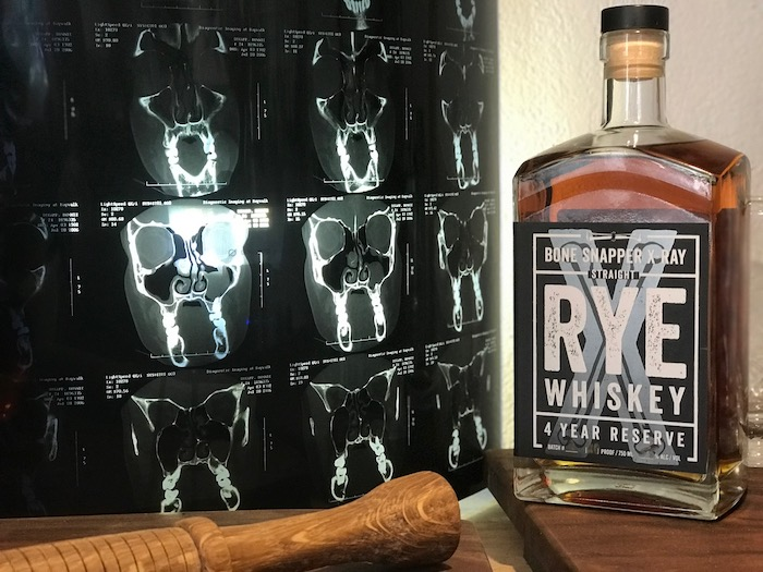 Bone Snapper X-Ray Straight Rye Four Year Reserve