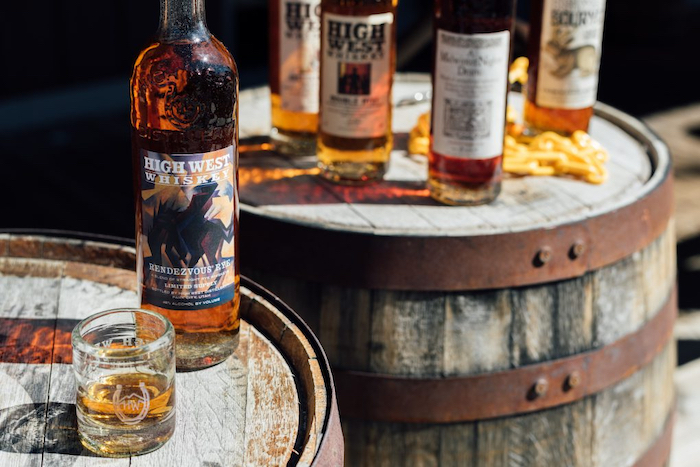 High West Distillery new Rendezvous Rye