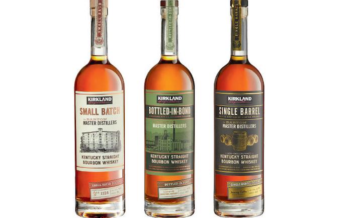 Costco Kirkland bourbons