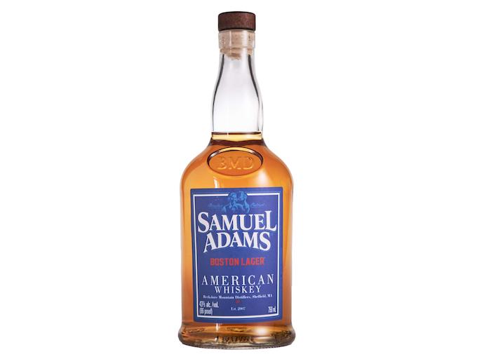 Samuel Adams Boston Lager American Whiskey (image via Berkshire Mountain Distillers)