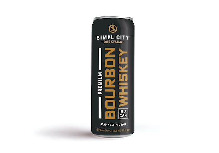 Simplicity Bourbon in a Can