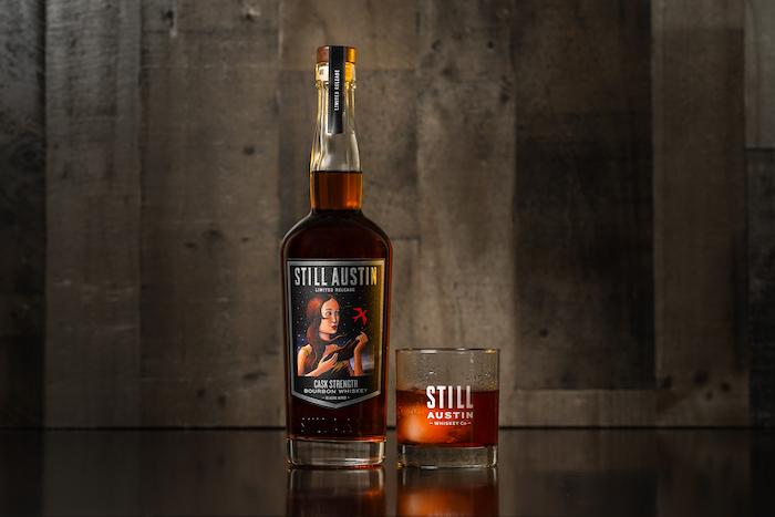 Still Austin Cask Strength Bourbon