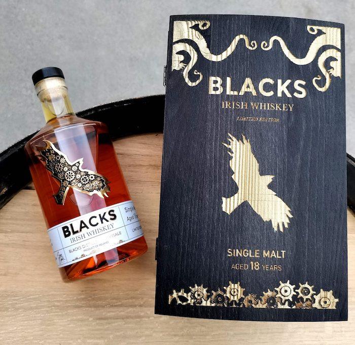 Blacks 18 Year old Irish Rum cask Whiskey