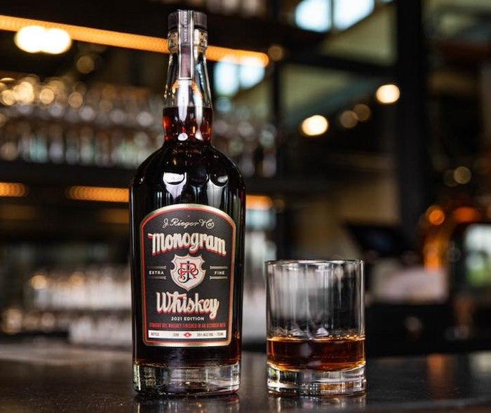 Rieger's 2021 Monogram Whiskey