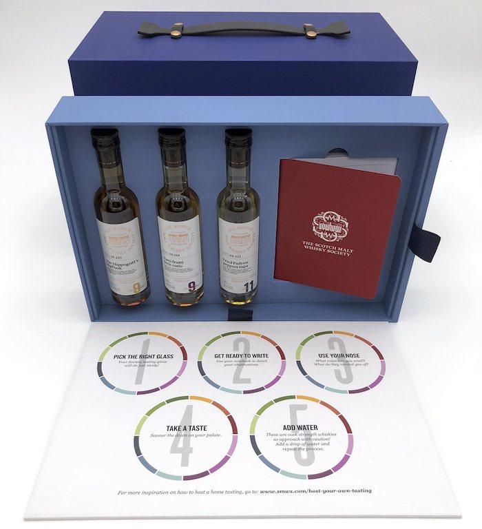The Scotch Malt Whisky Society tasting kit